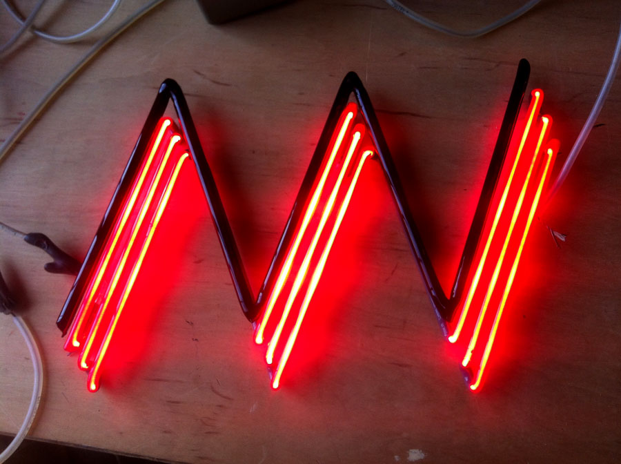 Neon Sign for No Walls