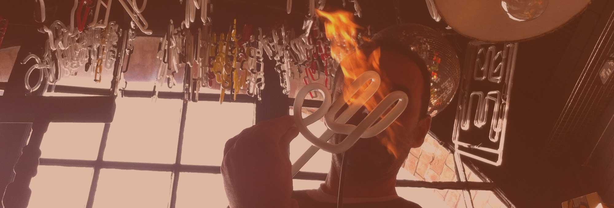 Andy Doig, Neon Artist