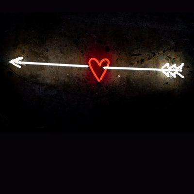 Don't Break My Heart Neon Art By Andy Doig