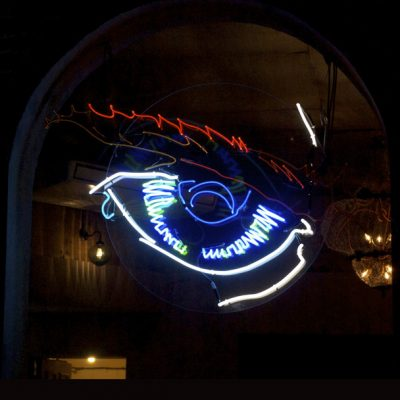 Neon Eye by Andy Doig