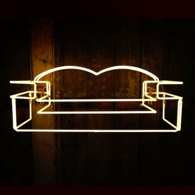 Neon Sofa by Andy Doig