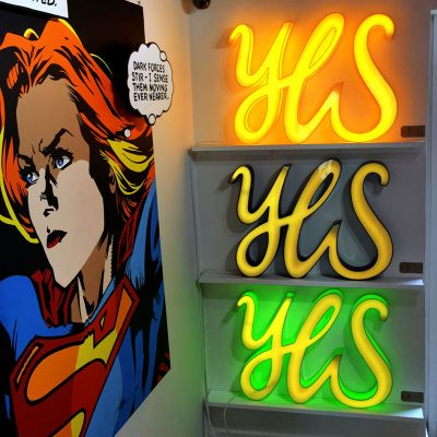 Yes, Yes, Yes by Andy Doig