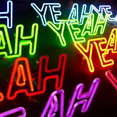 Yeah neon art by Andy Doig
