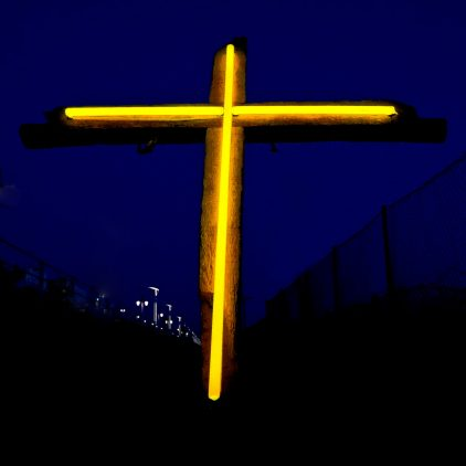 Acid Yellow Cross by Andy Doig