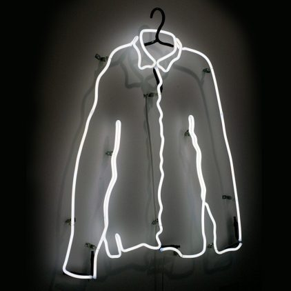 The Shirt Off My Back, by Neon Artist Andy Doig