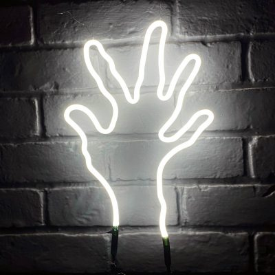 Neon Hand 11
