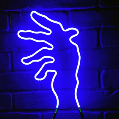 Neon Hand 12