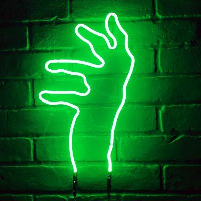 Neon Hand 17