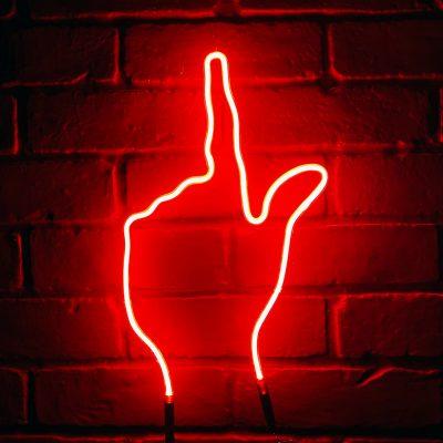 Neon Hand 20