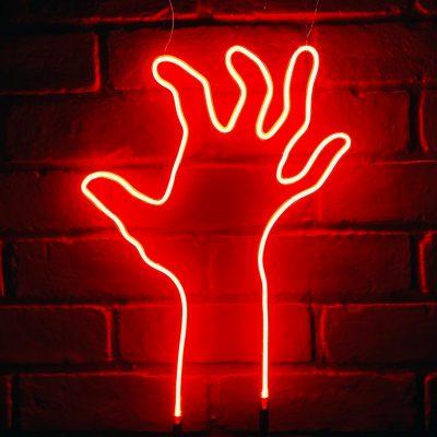 Neon Hand 22
