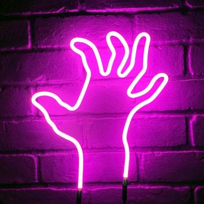 Neon Hand 26