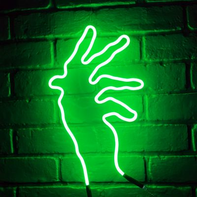 Neon Hand 27