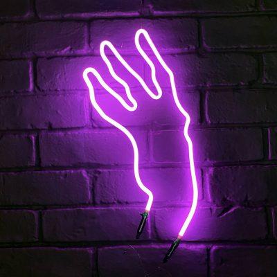 Neon Hand 30