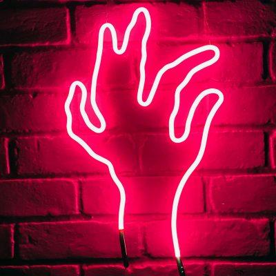 Neon Hand 32