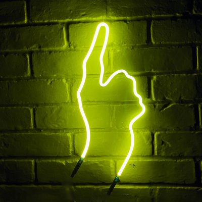 Neon Hand 42