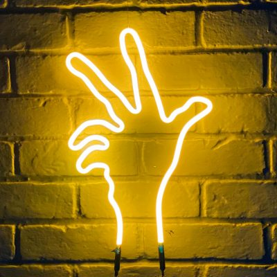 Neon Hand 43