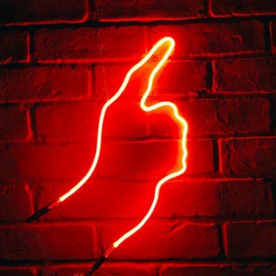 Neon Hand 45