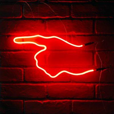 Neon Hand 5