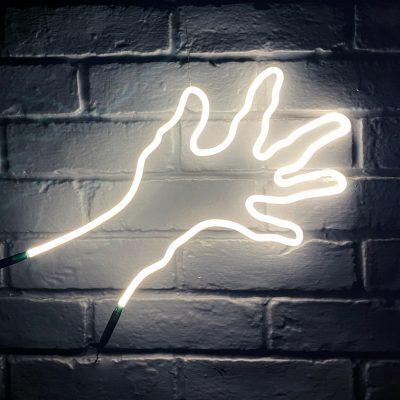 Neon Hand 52
