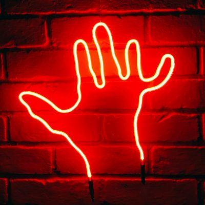Neon Hand 54
