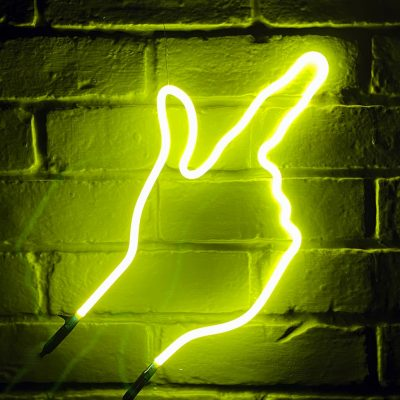 Neon Hand 57