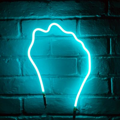Neon Hand 63