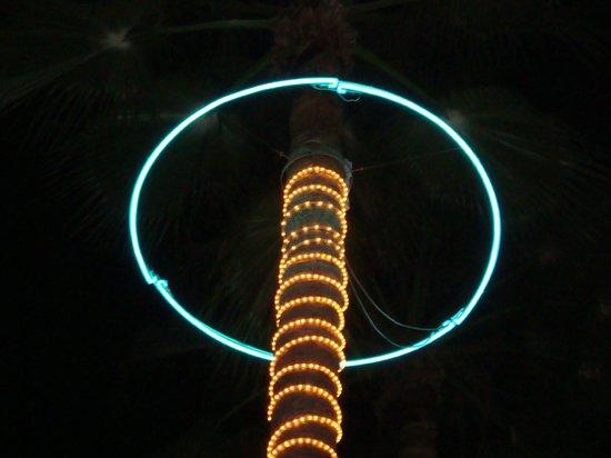 Neon Installation at Hotel Es Vive in Ibiza