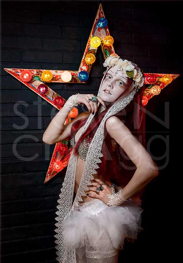 Fishtail Neon Fashion Shoot