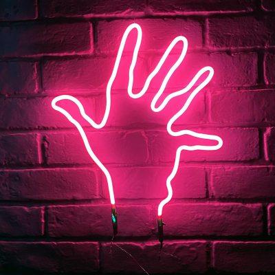 Neon Hand 13