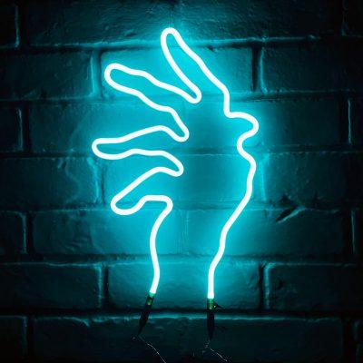 Neon Hand 19