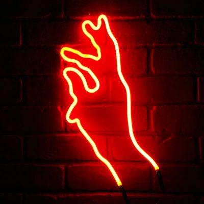 Neon Hand 23