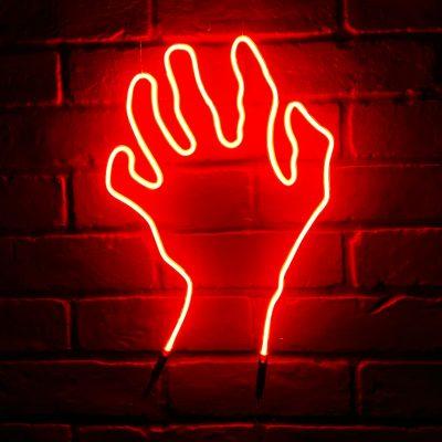 Neon Hand 31