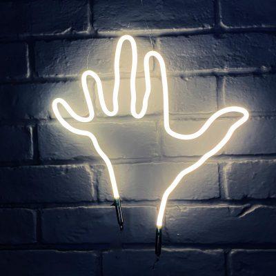 Neon Hand 34