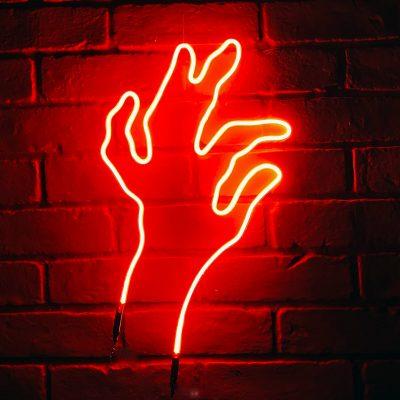 Neon Hand 37