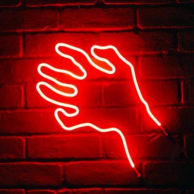 Neon Hand 38