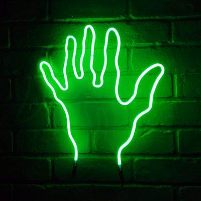 Neon Hand 39