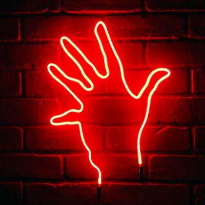 Neon Hand 41
