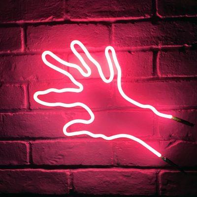 Neon Hand 44