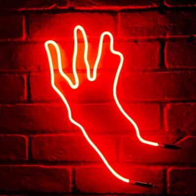 Neon Hand 59