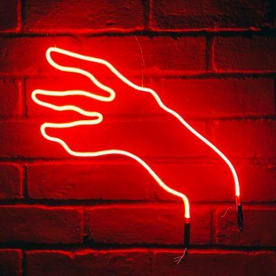 Neon Hand 7